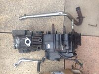 Pitbike engine and parts