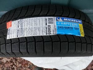245 60 R18 Brand New Michelin Latitude X Ice (Set of 4) Winter