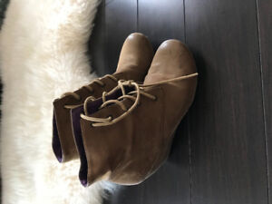 Brown boots on sale from town shoes