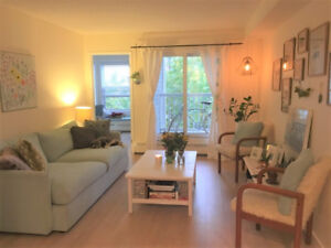 Spacious 2br condo Mission - heated underground parking included