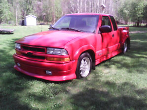 Chevrolet extreme pick up truck. S10