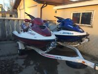 For sale a set of Sea-Doo's