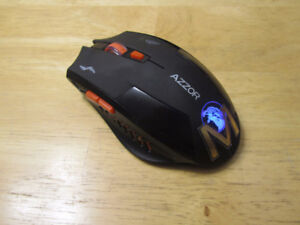 Rechargeable gaming mouse