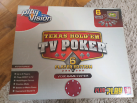 Texus Hold 'Em TV Poker - 6 player edition