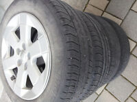 P185/65 R15 Four Michelin Harmony on Rims for Toyota Prius