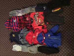 Boys size 6-12 and 12 months + Clothes lot
