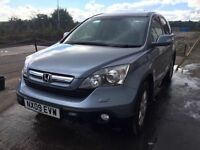 Bargain Honda CRv CR-V Cdti 2.2 diesel long MOT no advisories