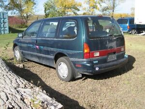1994 Mercury Villager 7 Passanges Minivan, Van
