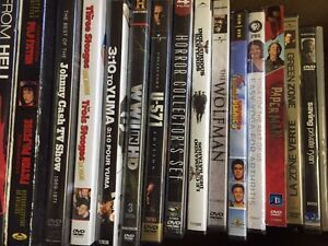 Dvd / blu ray collection of 76 titles.
