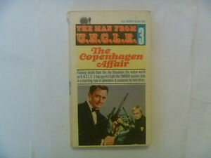 The Man From U.N.C.L.E. Paperbacks - 2 to choose from