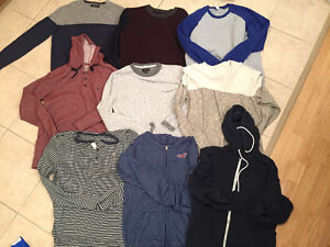 A&F, Hollister, American Eagle Sm/Md, 32/34, Mens Clothing