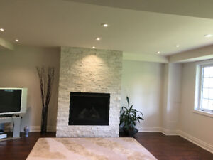 Luxurious Brand new and very specious walkout basement