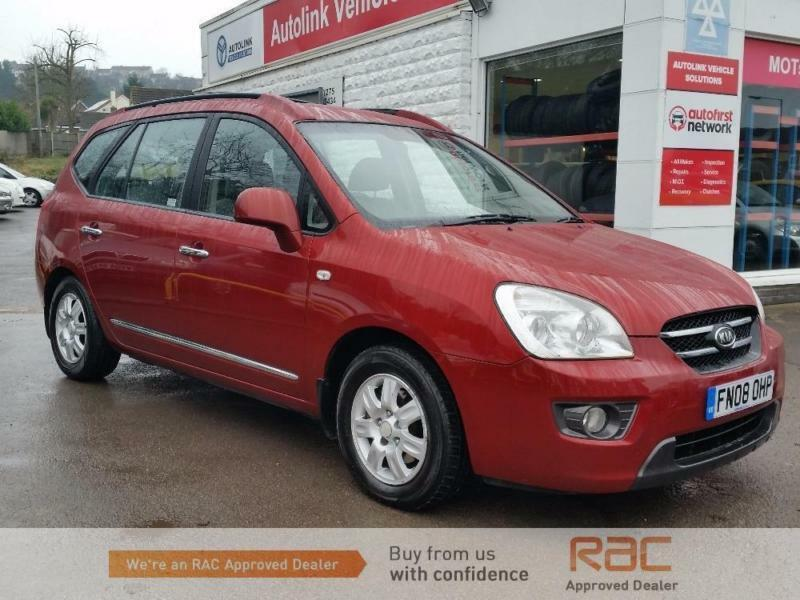 Kia Carens Gs Crdi Red Auto Diesel 2008 In Portishead Bristol