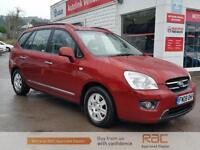 KIA CARENS GS CRDI, Red, Auto, Diesel, 2008