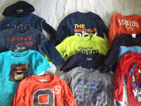 Long sleeve shirts. Size 24 mths and size 2