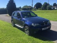 BMW X3 3.0 litre petrol (quick sale required )