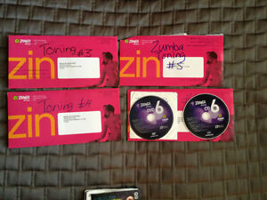 Zumba Cds and DVDs