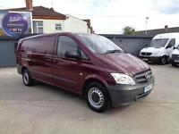MERCEDES-BENZ VITO 2.1CDI | 116 | EXTRA LONG | 1 OWNER | AIR CON | 2014