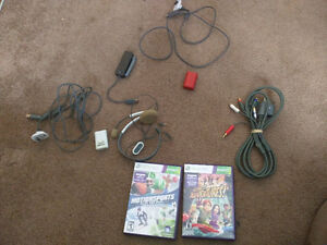 Xbox 360 Accessories and Kinect Games