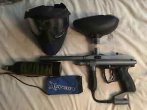 Spyder Xtra with Mask and accessories