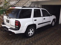 2002 Chevrolet Trailblazer LT, Negotiable for quick sale
