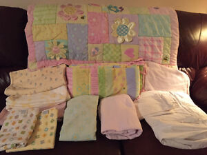Crib Bedding - Various Prices - Excellent Condition