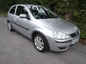 Vauxhall/Opel Corsa 1.2i 16v SXi+ 2006 56 PRESTON