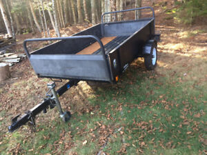 4 X 8 SNOW BEAR UTILITY TRAILER