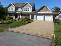 Aggregate driveway sealing!! ONLY - $1.00 per sq ft