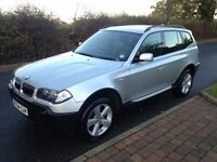 BMW X3 2004 SPORT AUTOMATIC SAT NAV FULL LEATHER..LONG MOT DRIVES THE BEST