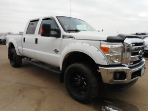 2015 Ford F-350 XLT- Lifted, Flares, Rims, Tires, 6.7L Diesel