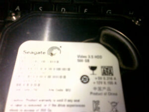 500gb HDD for a Tower (not a laptop) Seagate