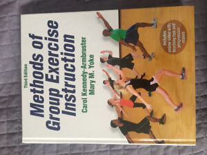 Methods of Group Exercise Instruction 3rd Edition Text Book