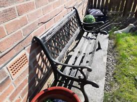 Cast iron garden set