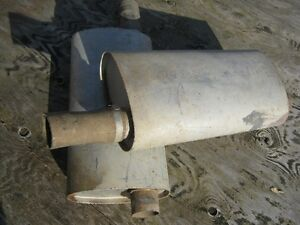 Two stainless steel mufflers Sarnia Sarnia Area image 1