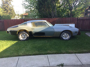 "1978 Pontiac Firebird Formula ""Project"""