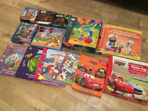 Lot de jeu et livres