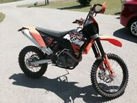KTM 450 XCRW- Blue plated- Safetied
