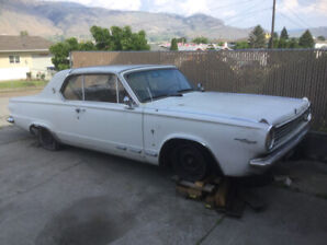 1965 Valiant Signet 2 door, V8,