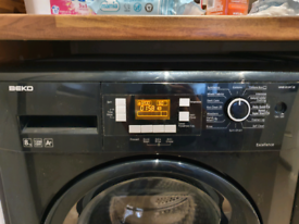 Beko 8kg Black Washing Machine
