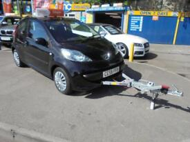2006 56 PEUGEOT 107 1.0 URBAN IN BLACK # TOW CAR FSH OWNED FOR 9 YEARS #