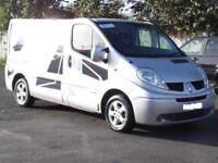 Renault Trafic 2.0dCi Sport, 2008, Silver, FSH, 1 Years Mot, 100 000 Miles,