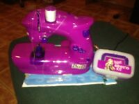 Bratz doll sawing machine new never used