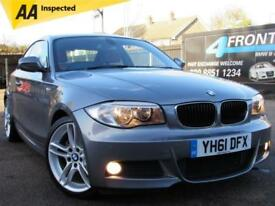 2011 BMW 1 SERIES 120I M SPORT AUTOMATIC COUPE PETROL COUPE PETROL