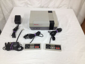 Nintendo Entertainment System Console with  2 Controllers