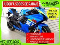 2015 Suzuki GSX-R600 35,20$/SEMAINE