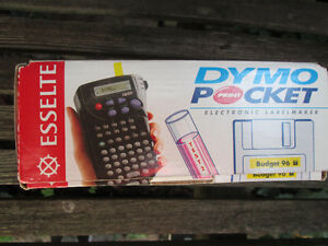 Esselte Dymo Pocket Electronic Labelmaker Like NIB incls.4 tapes London Ontario image 7