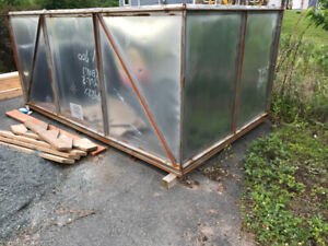 Storage Shed / Metal Shipping Container    $500 OBO