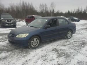 2005 HONDA CIVIC SEDAN !! 5 SPEED !! WORKS GREAT !!