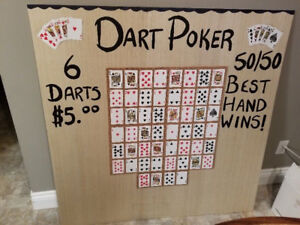 Stag & Doe Game - Poker Darts Plus other Items